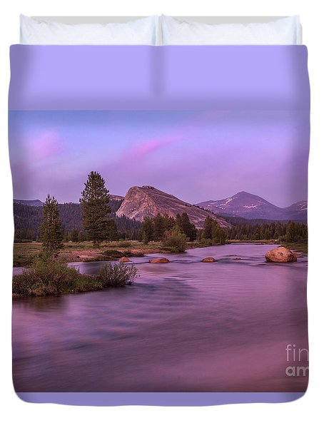 Tuolumne Meadow Duvet Cover