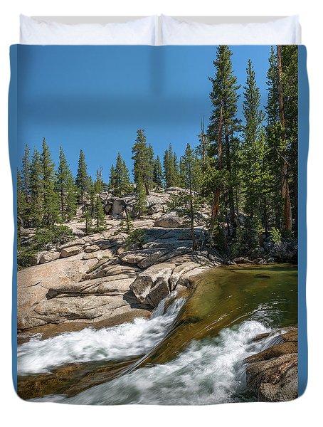 Tuolumne River II Duvet Cover