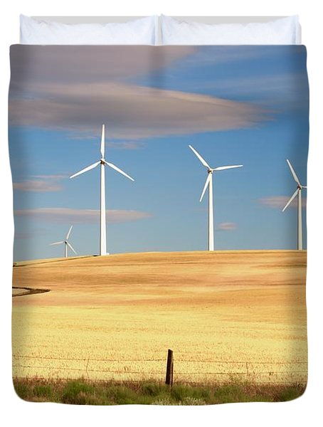 Turbine Line Duvet Cover
