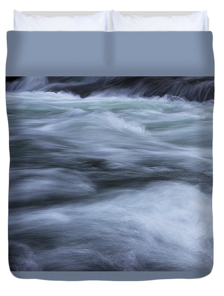 Duvet Cover featuring the photograph Turbulence 2 by Mike Eingle