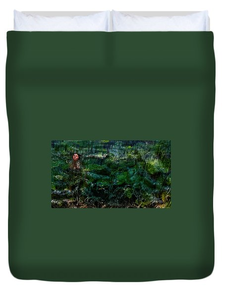 Duvet Cover featuring the photograph Turbulence by Jim Vance