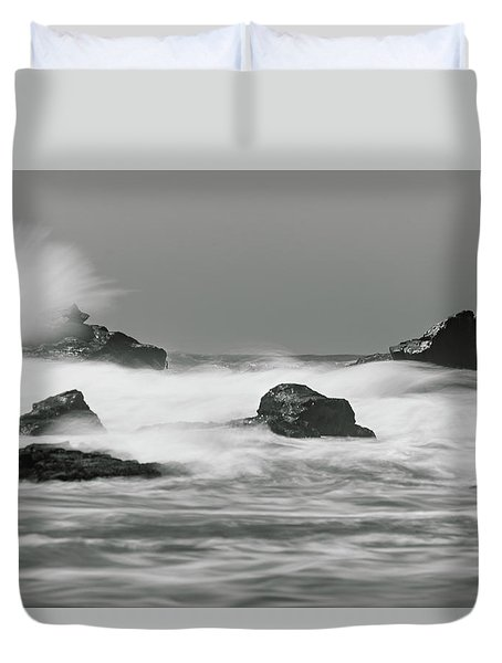 Turbulent Thoughts Duvet Cover