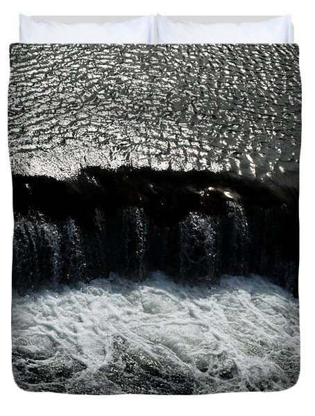 Turbulent Water Duvet Cover