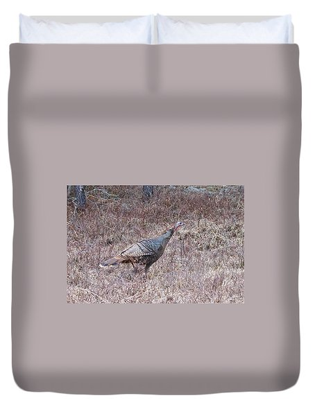 Duvet Cover featuring the photograph Turkey 1155 by Michael Peychich