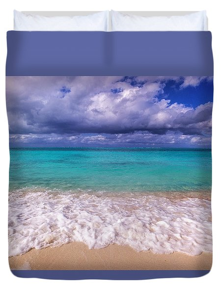 Turks And Caicos Beach Duvet Cover