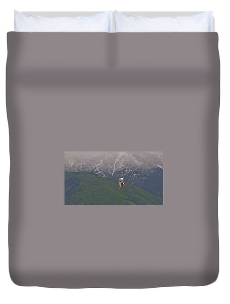 Turn And Burn Duvet Cover