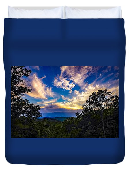 Duvet Cover featuring the photograph Turn Down The Lights. by Kendall McKernon