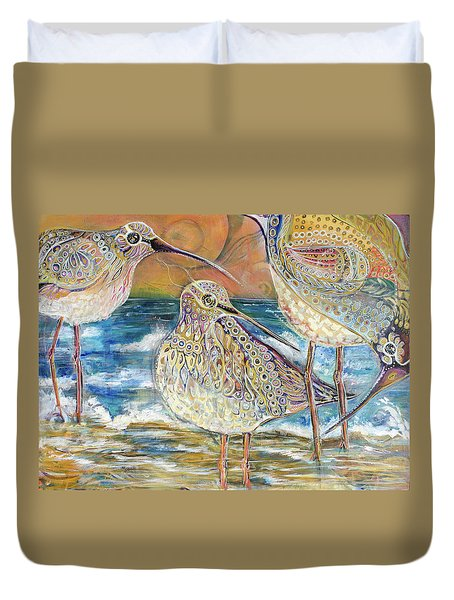 Turning Of The Tides Duvet Cover