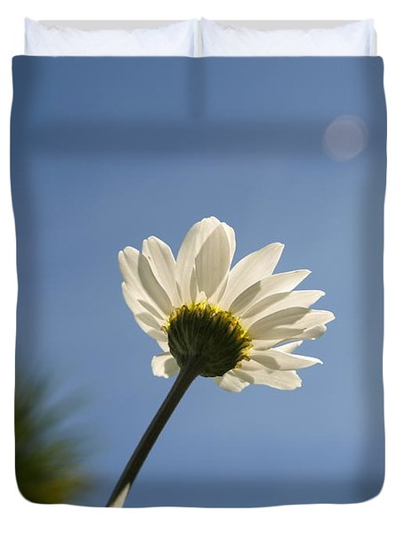 Turn To The Light Duvet Cover