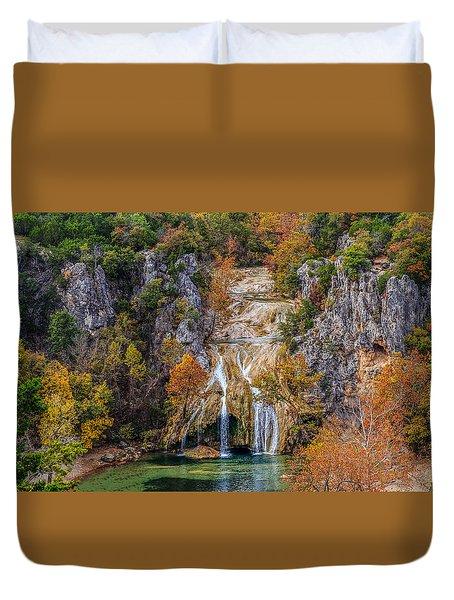 Turner Falls 8 Duvet Cover by Doug Long