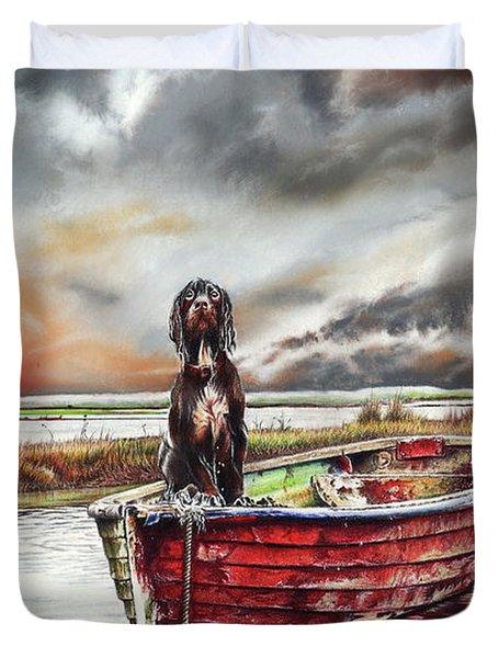 Turner's Dog Duvet Cover