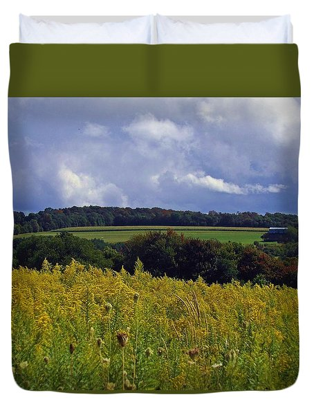 Turning The Page Duvet Cover