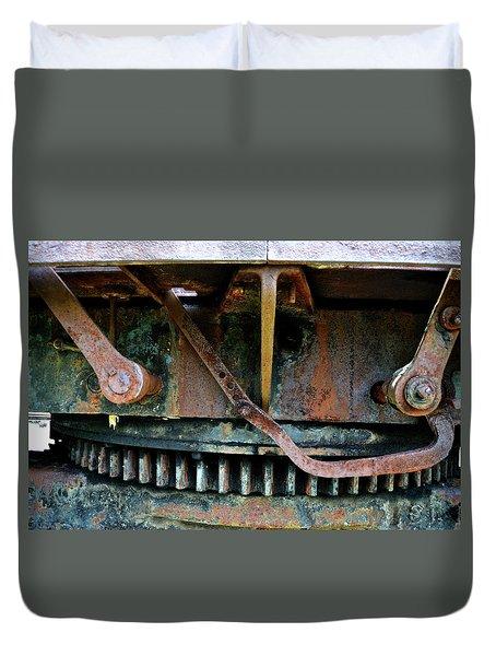 Turntable Gear Duvet Cover