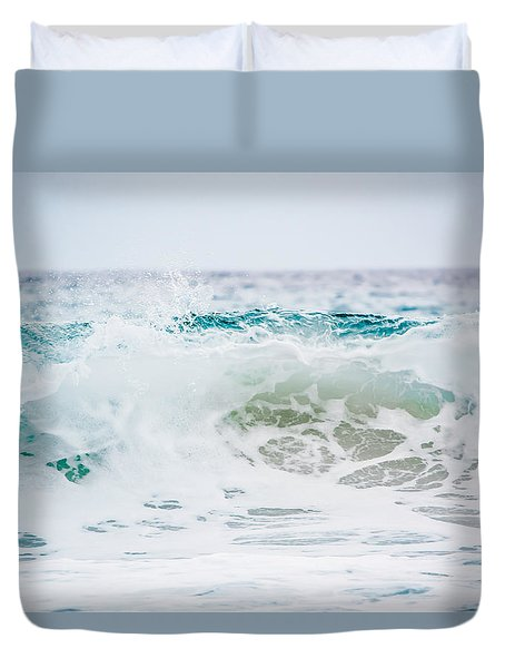 Turquoise Beauty Duvet Cover by Shelby Young