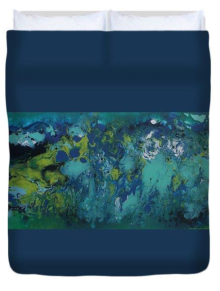 Turquoise Blue Duvet Cover