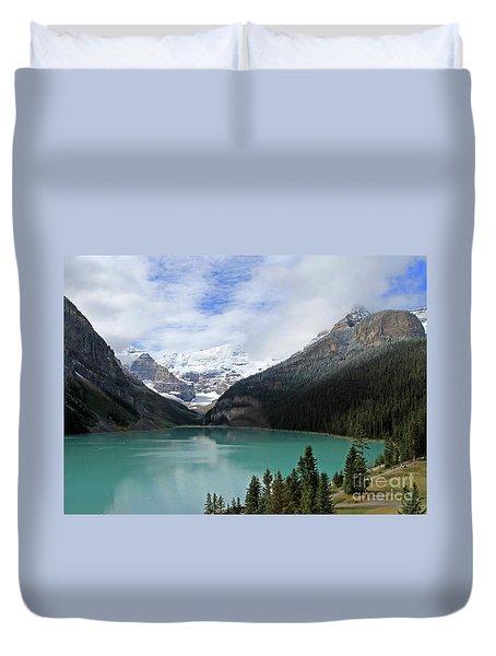 Turquoise Lake Duvet Cover