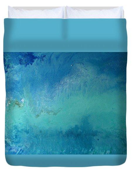 Turquoise Ocean Duvet Cover