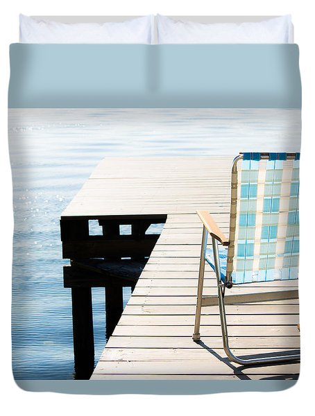 Turquoise Paradise Duvet Cover