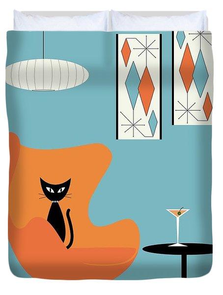 Turquoise Room Duvet Cover