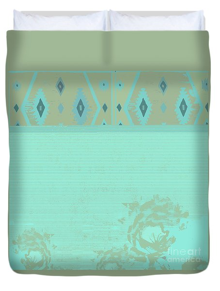 Turquoise Soft Duvet Cover