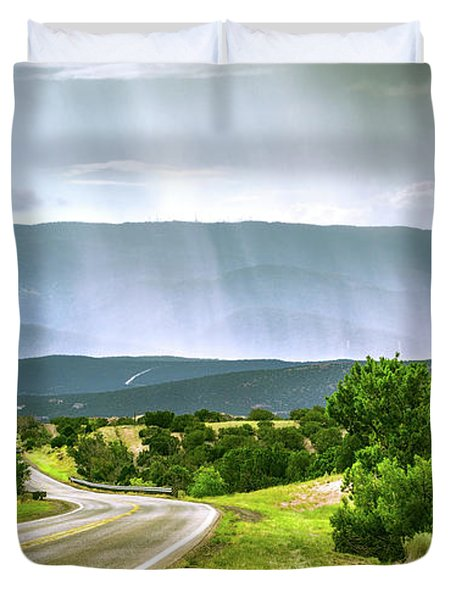 Turquoise Trail Duvet Cover