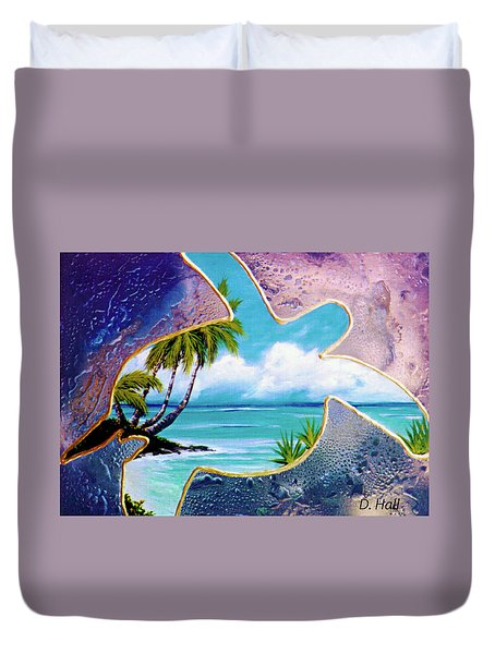 Turtle Bay #144 Duvet Cover by Donald k Hall