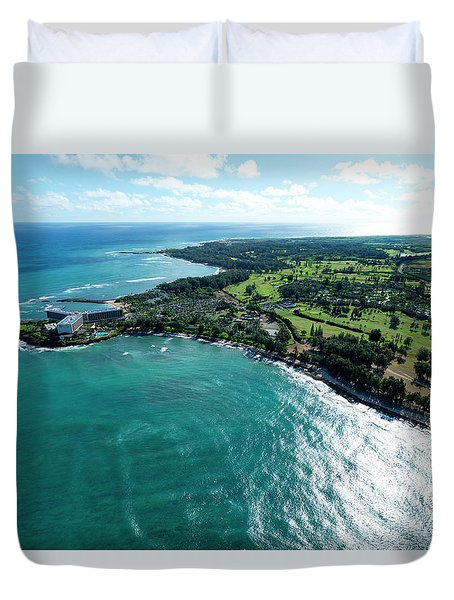 Turtle Bay Glow Duvet Cover