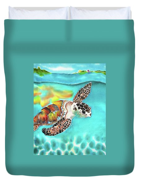 Turtle Creek Duvet Cover