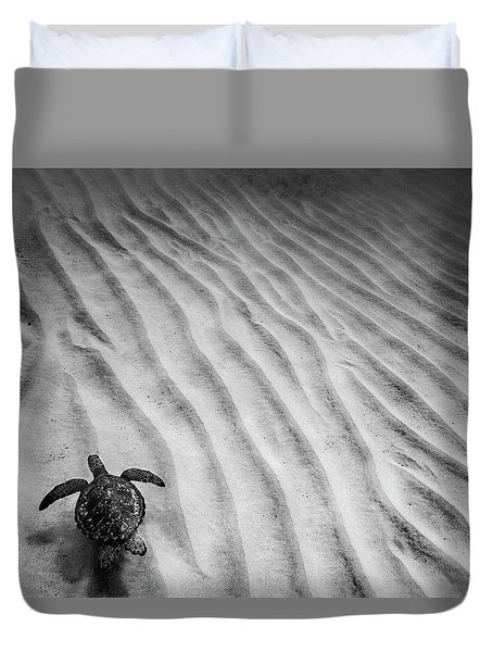 Turtle Ridge Duvet Cover