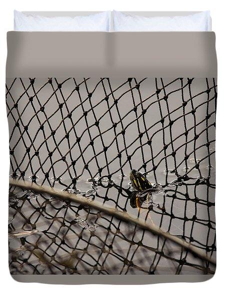 Turtle Trap Duvet Cover