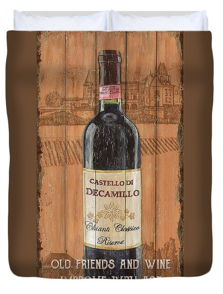 Tuscan Chianti 1 Duvet Cover