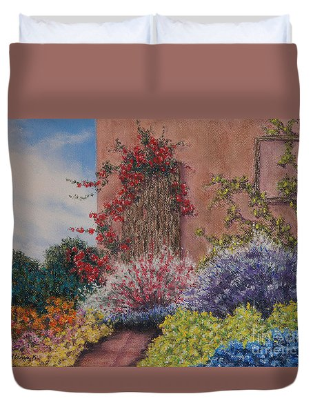 Tuscan Delusions Duvet Cover
