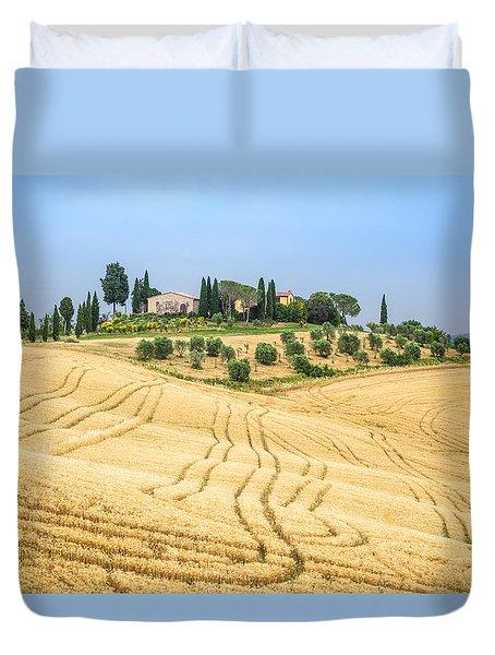 Tuscan Hills Duvet Cover