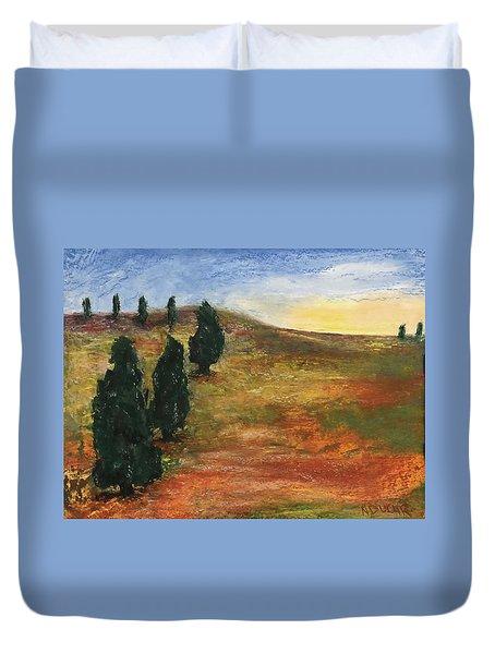 Tuscan Lights Duvet Cover