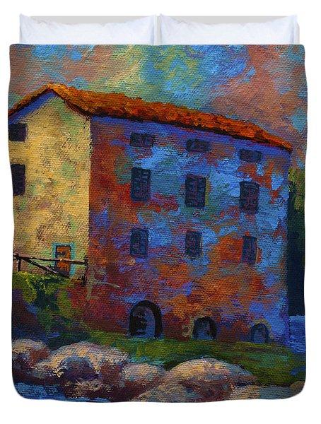 Tuscan Mill Duvet Cover