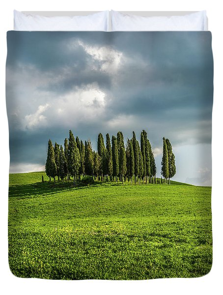 Tuscan Wonderland - Val D Orcia Duvet Cover