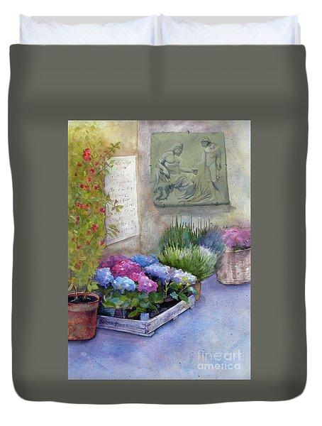 Tuscany Florist Duvet Cover