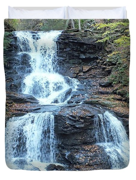 Tuscarora - Ricketts Glen Duvet Cover