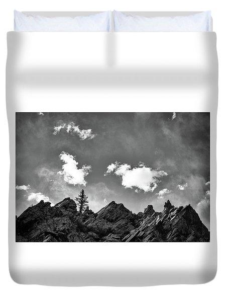 Tusas Canyon New Mexico Duvet Cover
