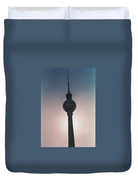Tv Tower Berlin Duvet Cover