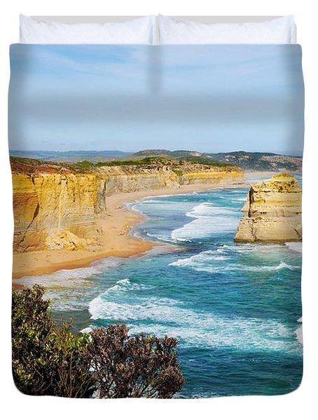 Twelve Apostles Australia Duvet Cover