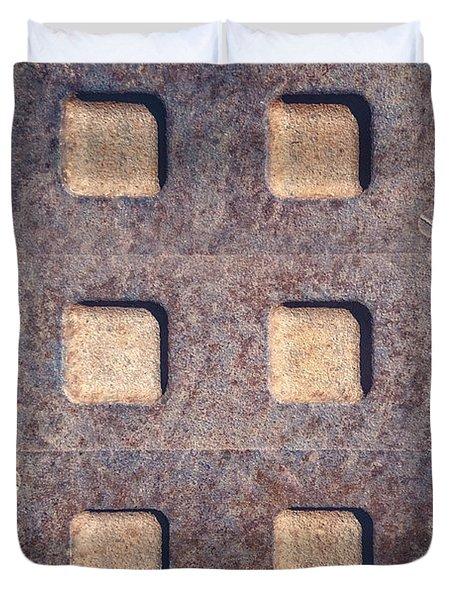 Twelve Squares Duvet Cover
