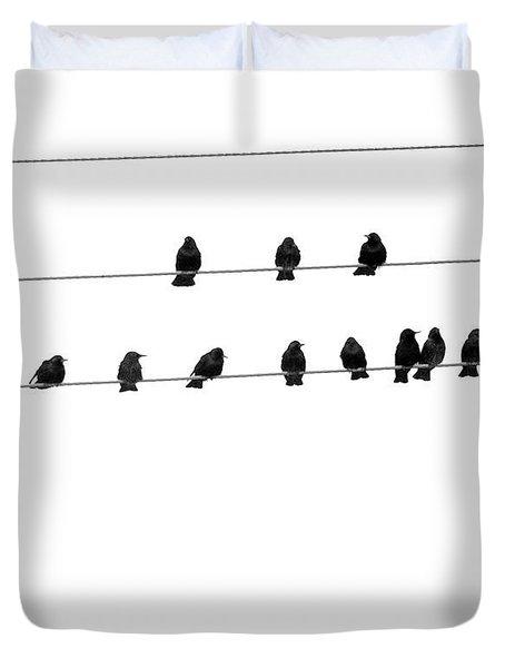 Twenty Blackbirds Duvet Cover