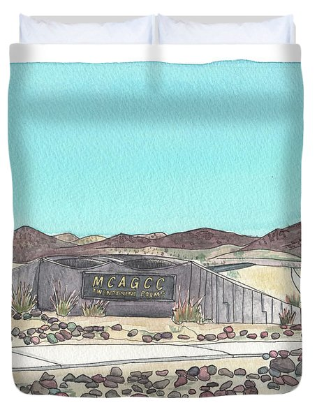 Twentynine Palms Welcome Duvet Cover