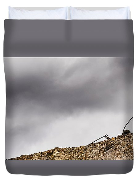 Twice Bent Duvet Cover