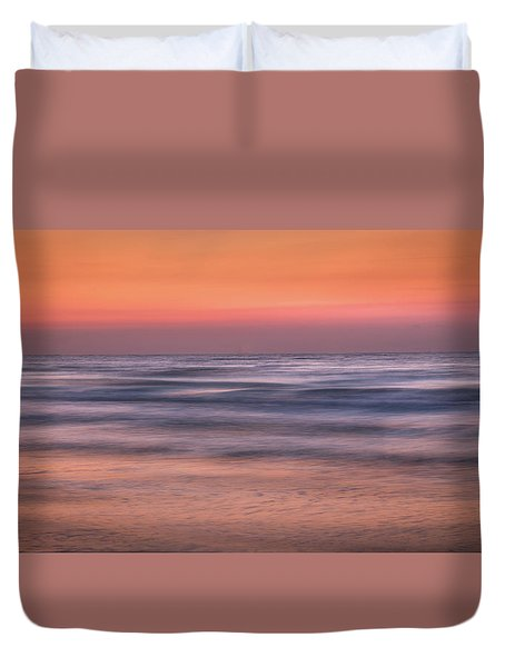 Twilight Abstract Duvet Cover