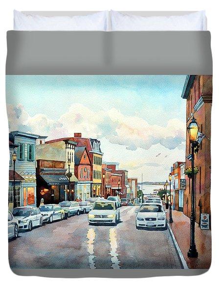 Twilight Annapolis Duvet Cover
