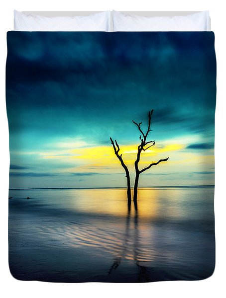 Twilight At The Boneyard Duvet Cover
