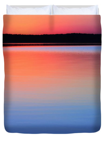 Twilight Blush Duvet Cover