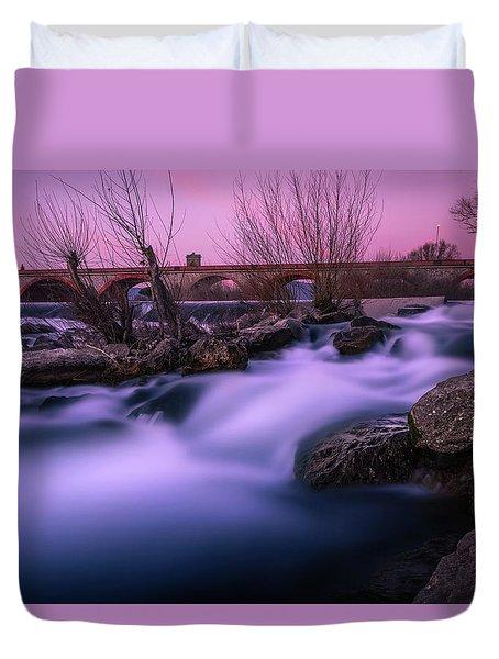 Twilight Falls Duvet Cover
